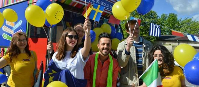 Pirmdien, 9. maijā atzīmē EIROPAS dienu!